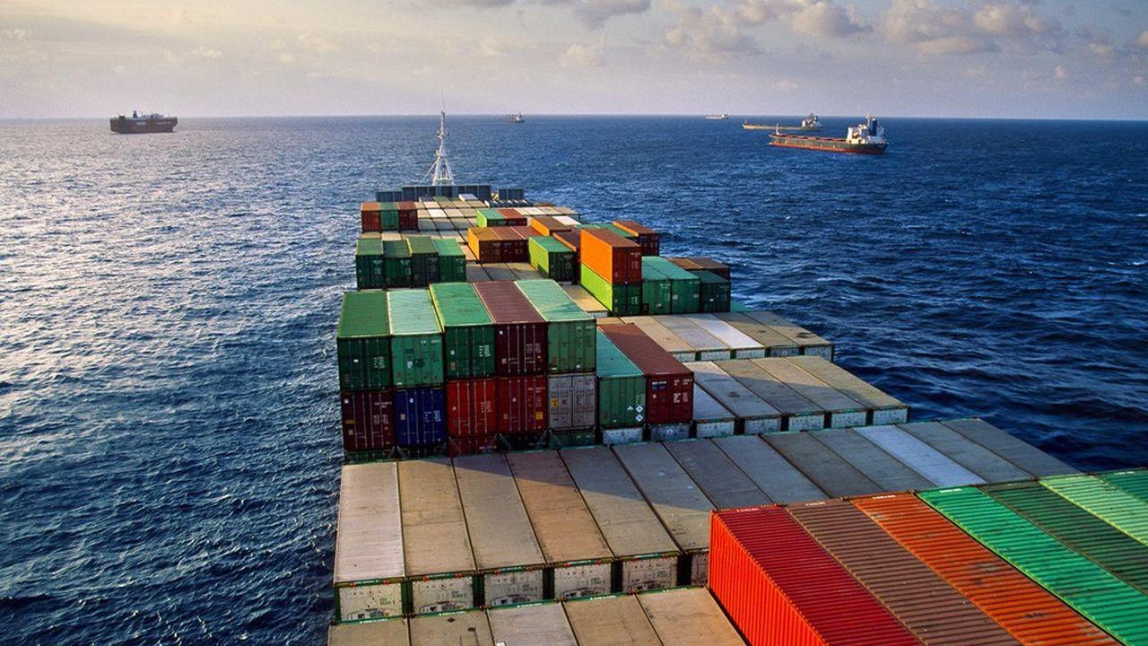 Le coût du fret maritime a reculé de 87% depuis le dernier pic en septembre.