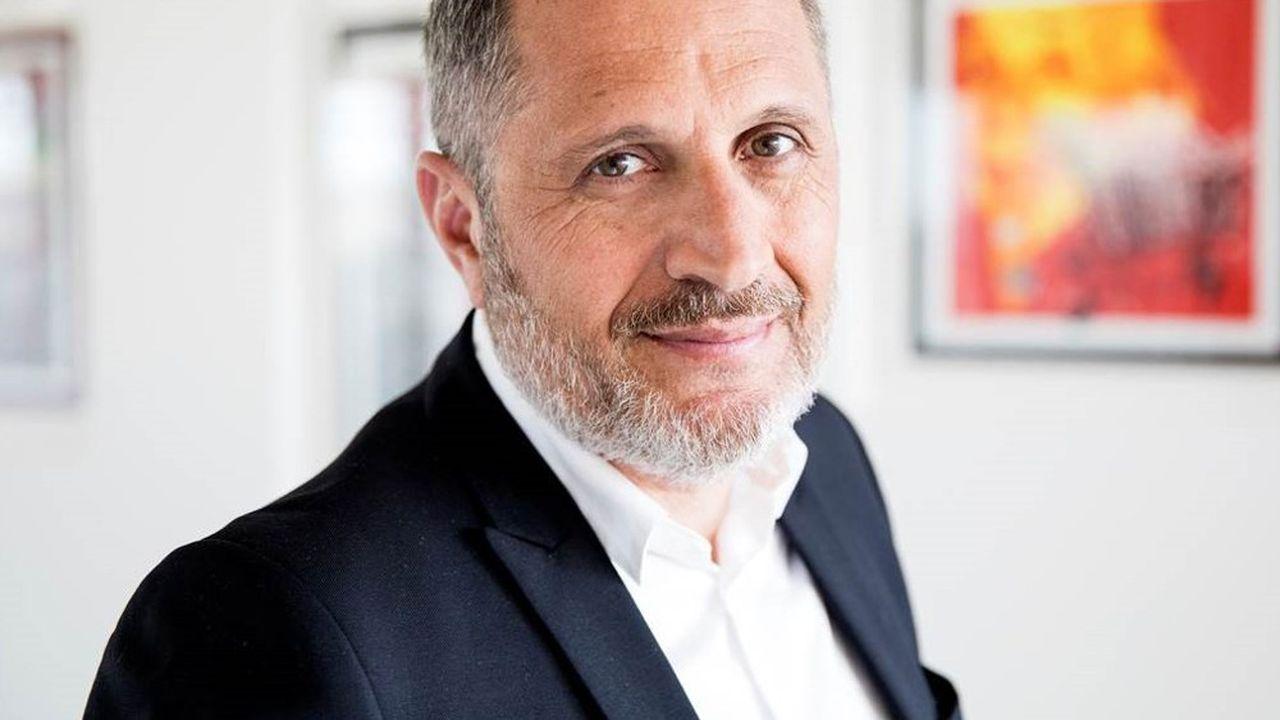 Didier Chabassieu, le président du directoire de HighCo.