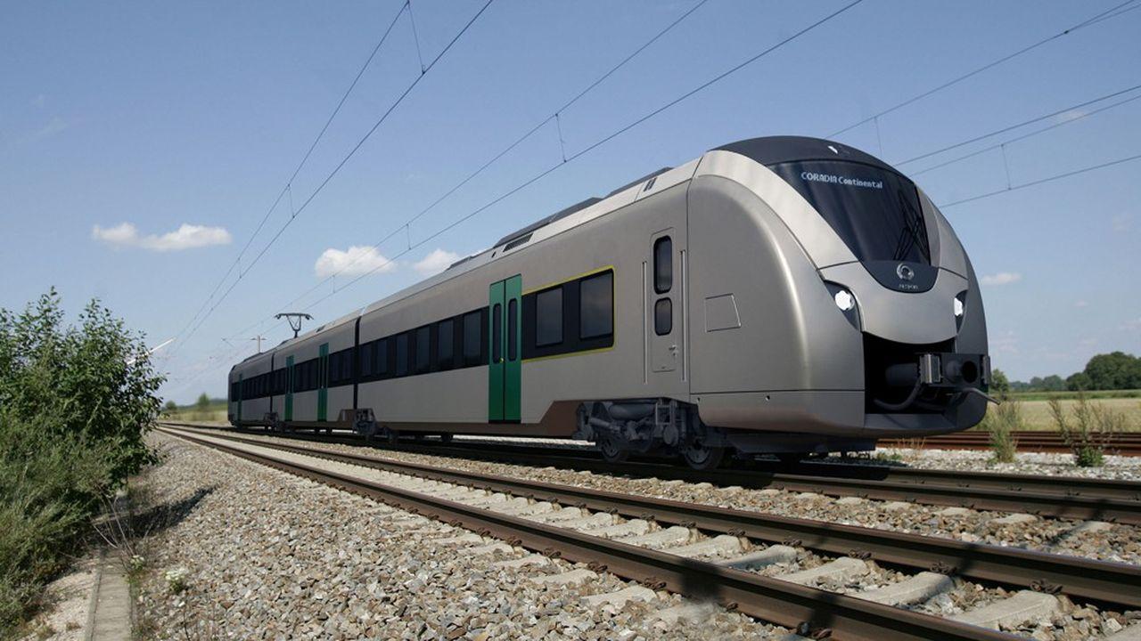 Cette nouvelle variante de train régional Coradia Continental s'ajoute à une première commande de 29 trains électriques en Saxe.