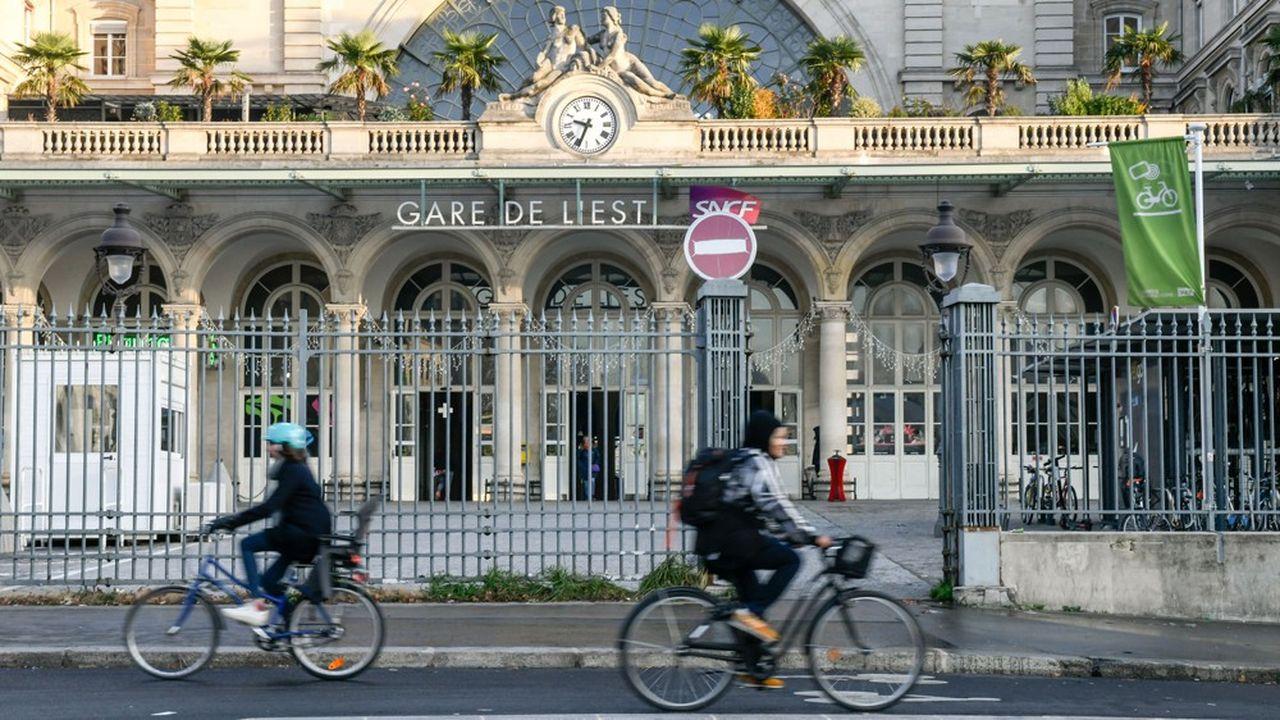 Le candidat LREM à la mairie de Paris Benjamin Griveaux veut déménager la Gare de l'Est et remplacer une partie des voies par un parc de 30 hectars.