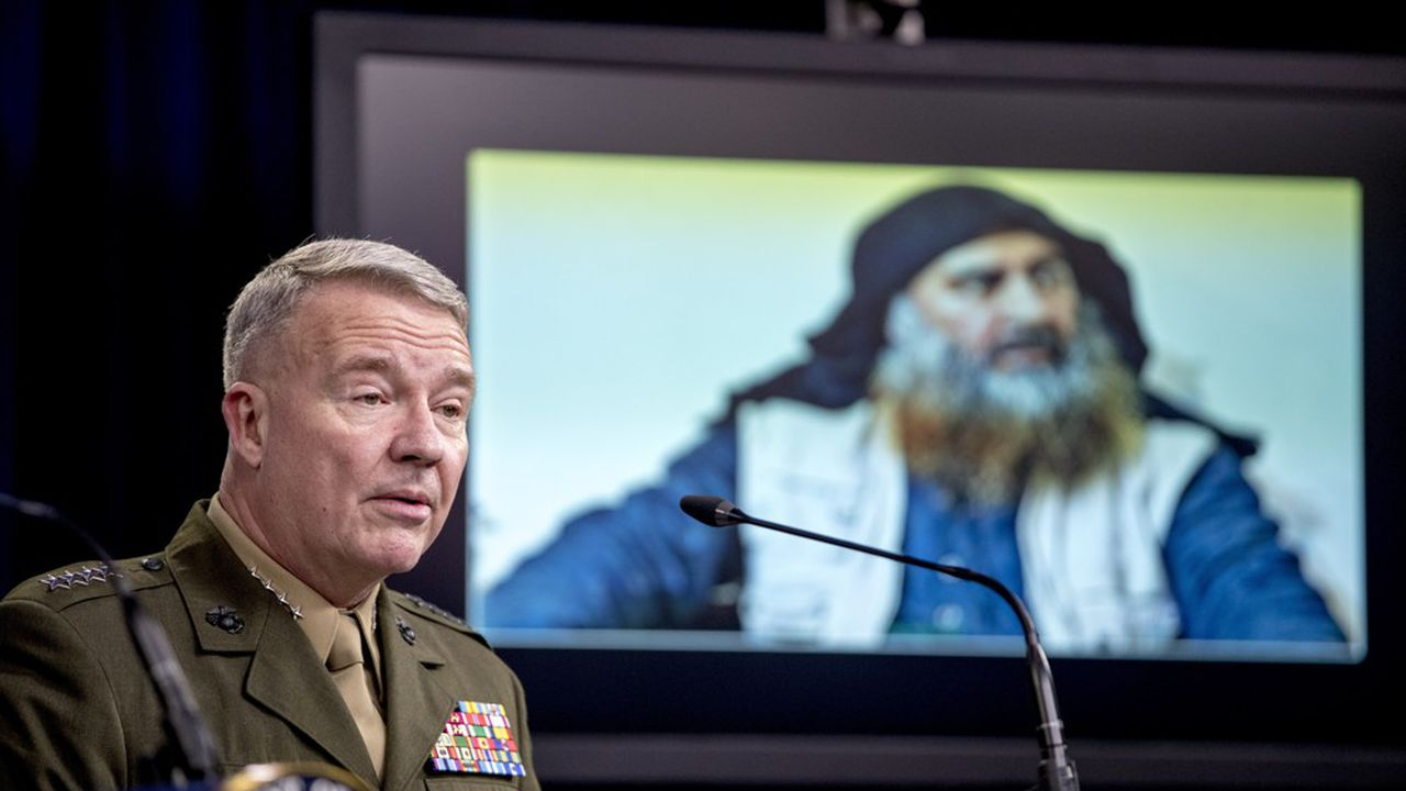 Donald Trump avait lui même annoncé la mort du chef de l'Etat islamique puis le Pentagone avait donné les détails de l'opération.