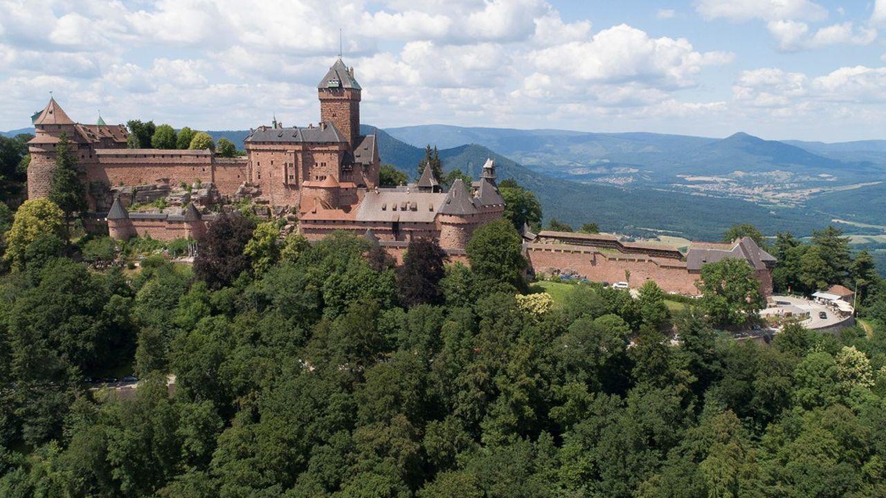 Le château est devenu propriété du département en 2007.