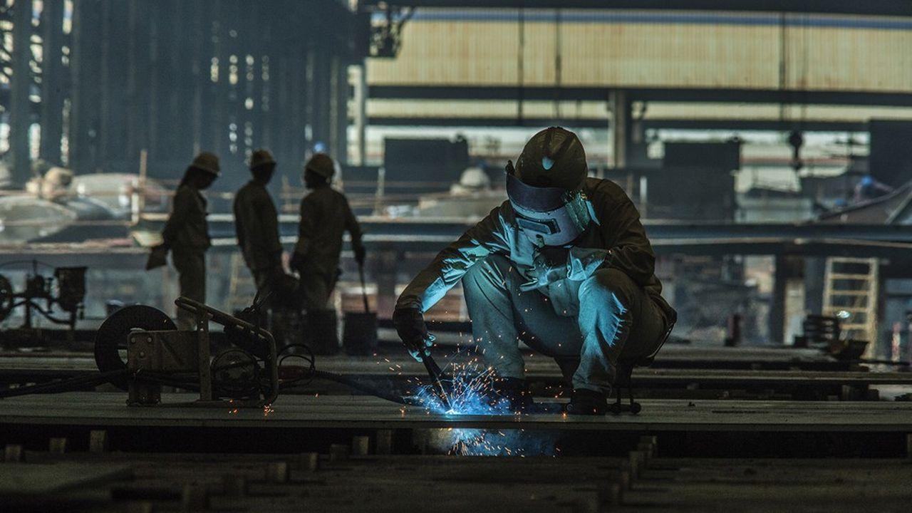 L'intérim a baissé de 8,1% en 2019 dans l'industrie, principal client des agences de travail temporaire.