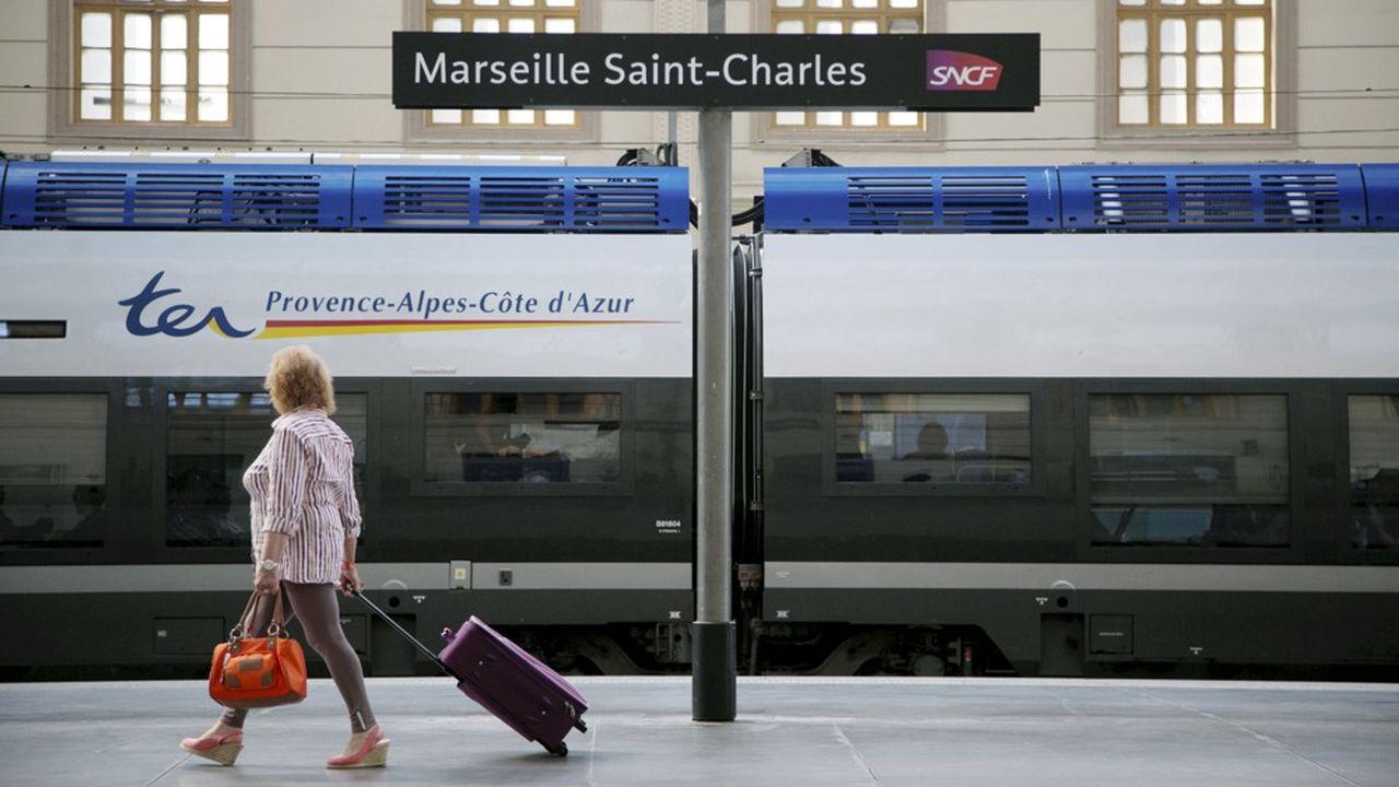 La région Provence-Alpes Côte d'Azur va mettre en concurrence la ligne Marseille-Toulon-Nice et les services «azuréens».