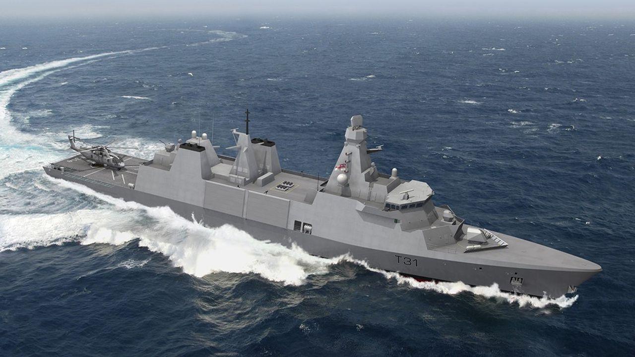 La nouvelle classe de frégate anglaise T31 sera livrée à partir de 2.023, comme les prochaines frégates d'intervention et de défense de Naval Group en France. Les projets sont similaires.