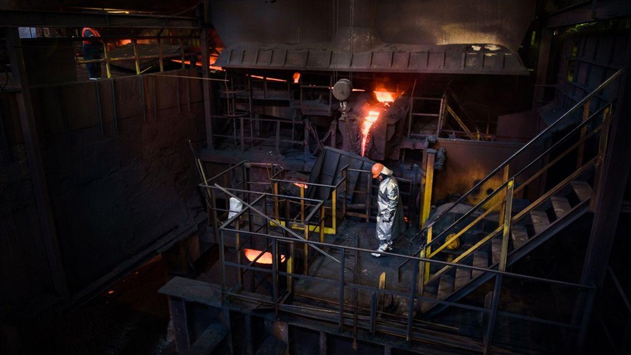 La production d'acier d'ArcelorMittal a baissé de 3% en 2019, à 89,8millions de tonnes.