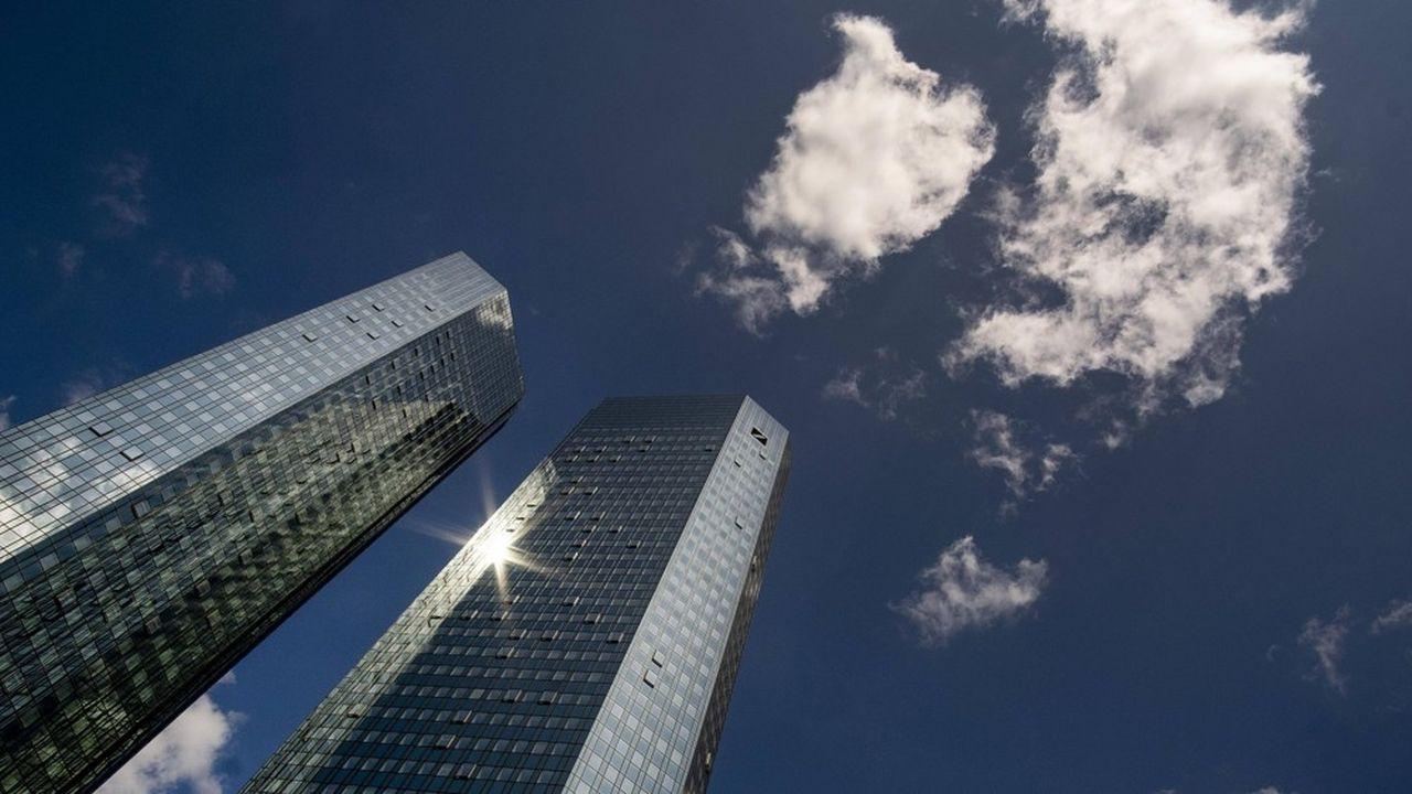Deutsche Bank connaît un retour en grâce boursier depuis le début de l'année 2020.
