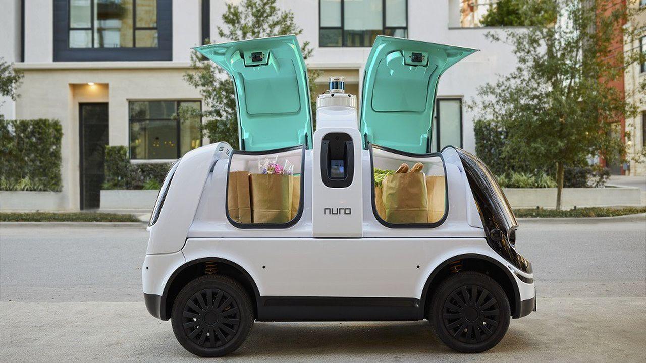 Le R2 est conçu uniquement pour ne transporter que des marchandises et non des personnes.