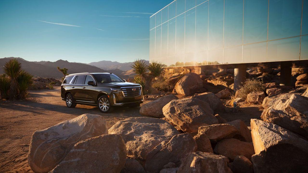 General Motors mise sur le SUV Escalade de Cadillac pour redresser ses ventes et ses profits cette année.