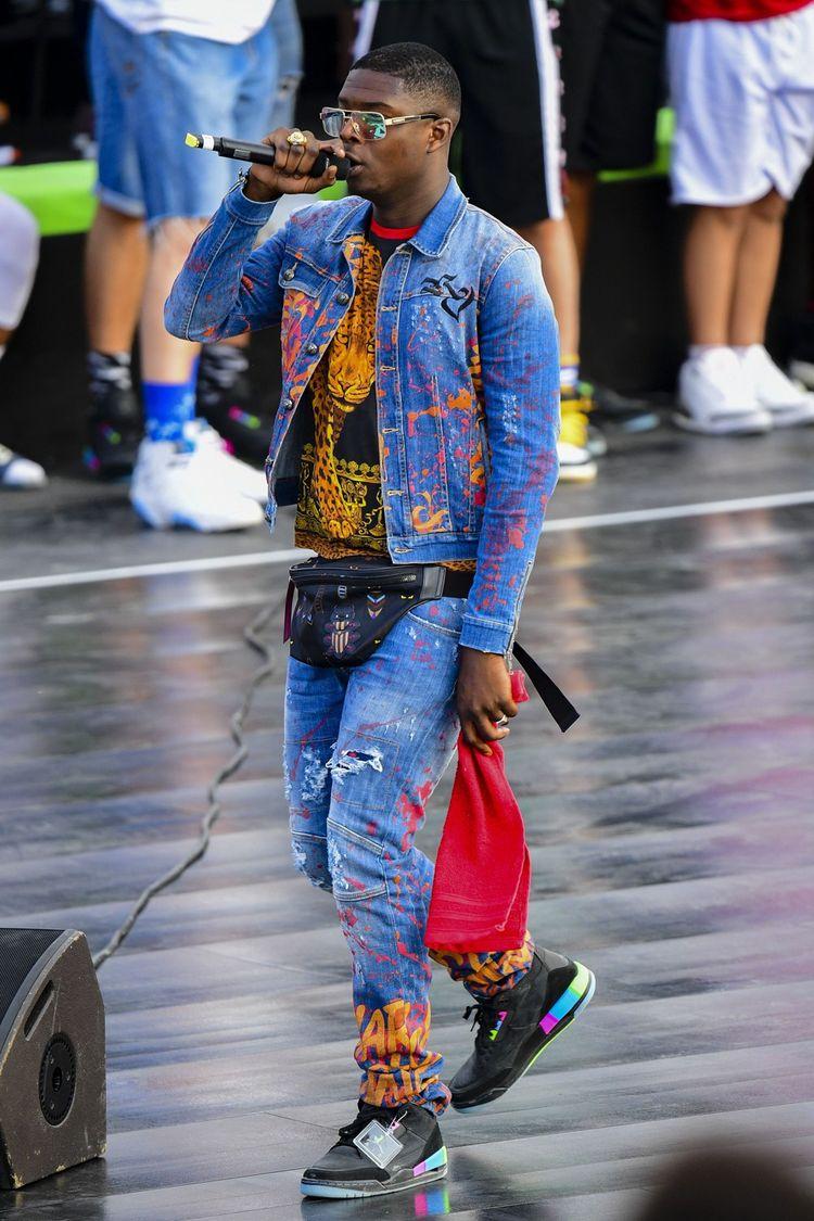 Le rappeur français Ninho. Son album Destin a été le plus streamé l'an dernier dans l'Hexagone.