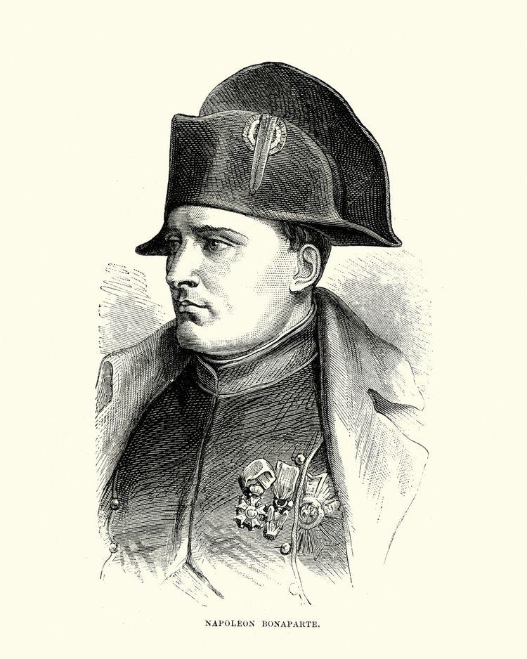 Napoléon Bonaparte.
