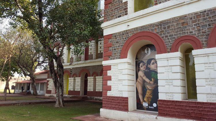 Le Drishyakala Museum créé par DAG au sein du Fort Rouge à Delhi.