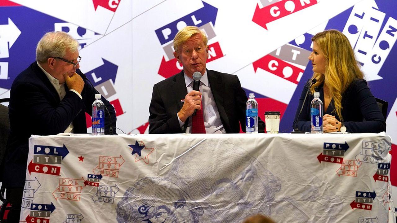 Malgré de faibles chances de battre Donald Trump, Bill Weld sillonne l'Amérique depuis plusieurs mois.