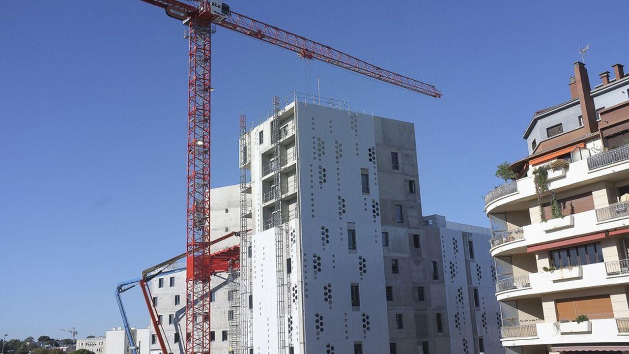 Ces dernières années, toutes les plus grandes villes françaises, en particulier Toulouse, Nice, Nantes, Montpellier (ici en photo), Bordeaux ou Lille, ont intensifié leur effort de construction.