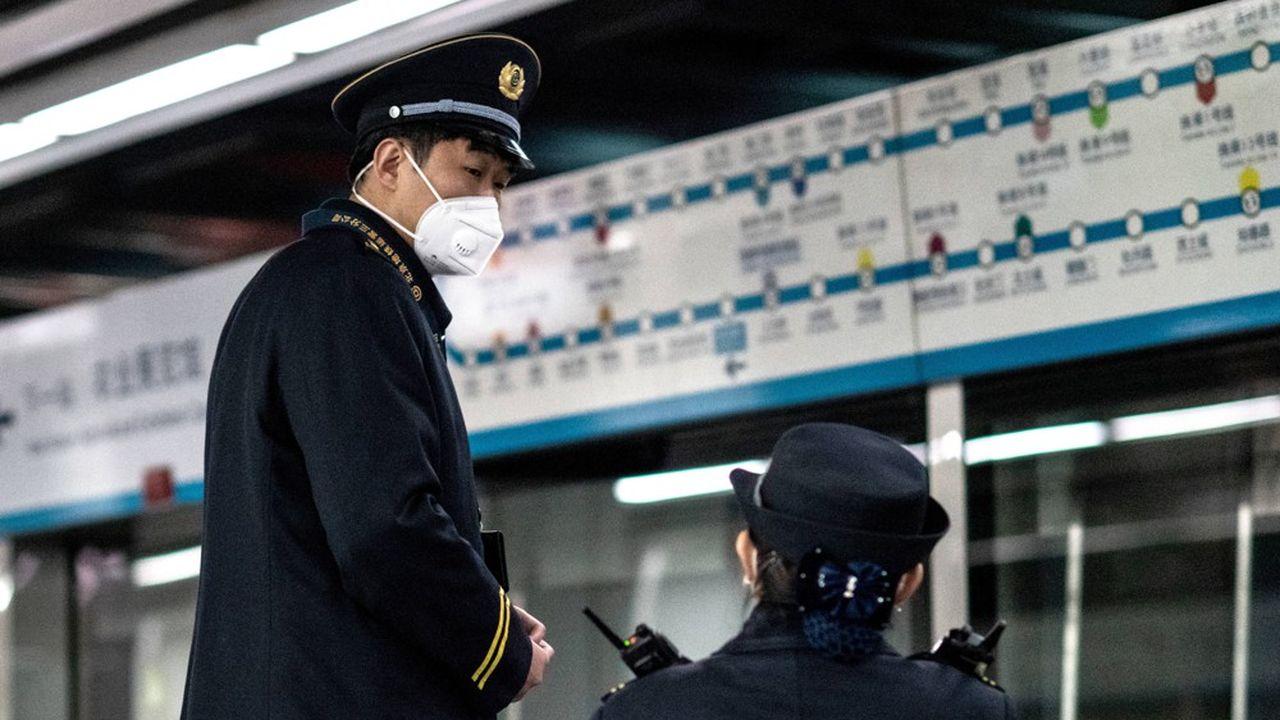 Le nombre d'usagers du métro de Pékin aurait chuté de 50% par rapport à d'habitude, alors que les congés de Nouvel An chinois s'achèvent.