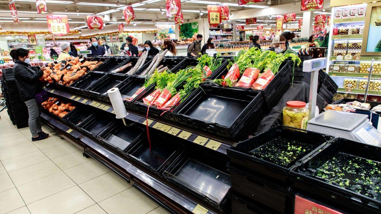 Si les prix du porc se sont envolés de 116% en un an, ceux des légumes frais ont progressé de plus de 20%.