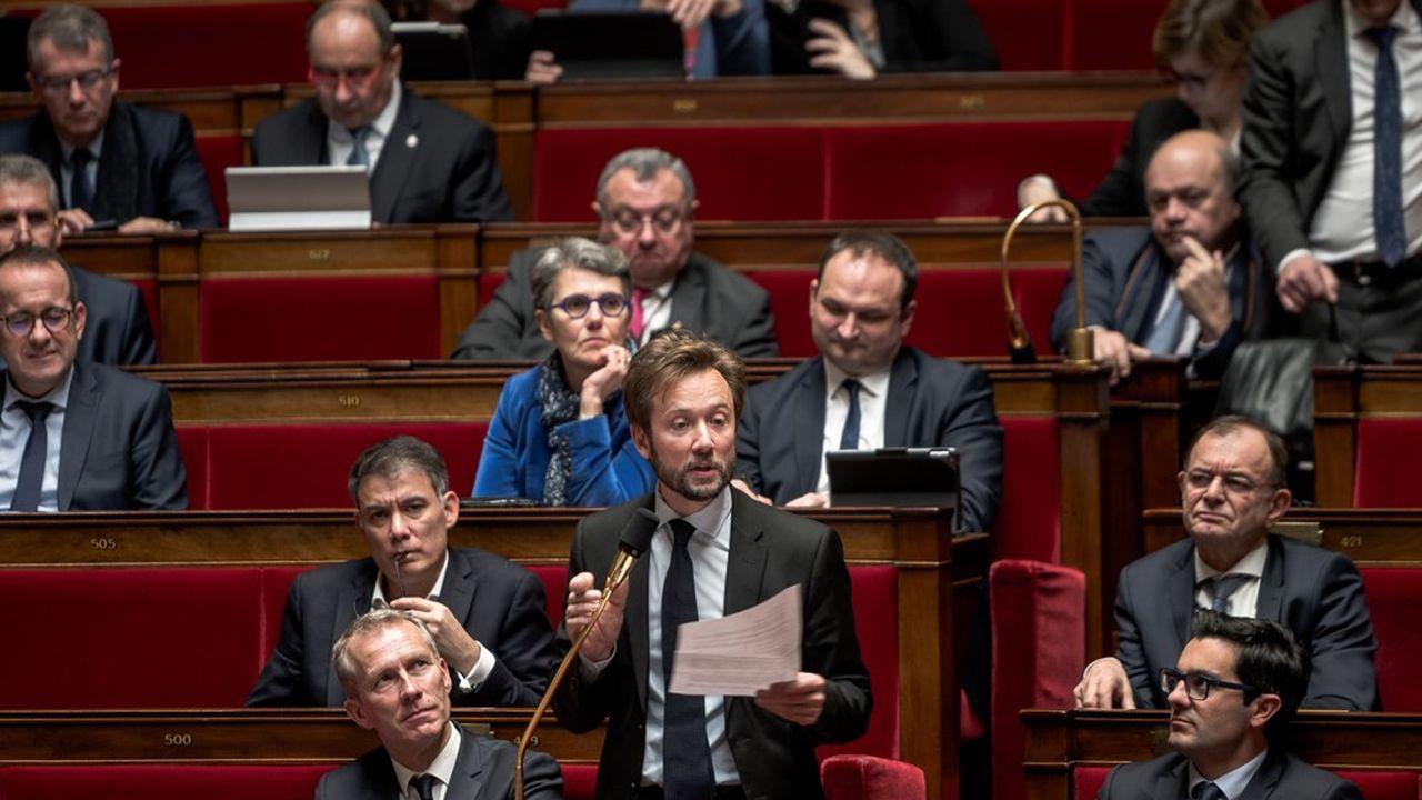 Boris Vallaud, en janvier2020.