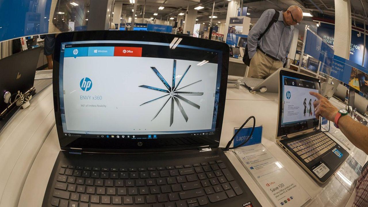 HP a une capitalisation boursière de plus de 32milliards de dollars.