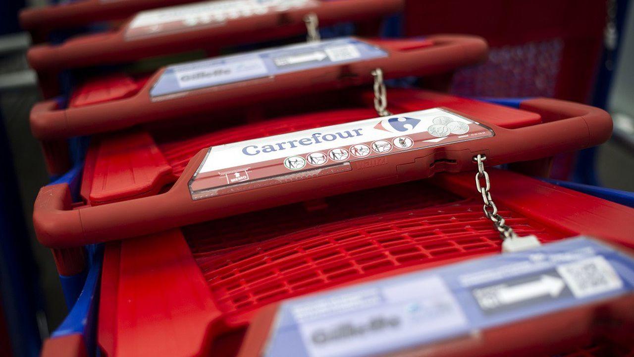 Carrefour a écopé d'une amende de 2,93millions d'euros.