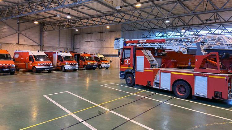 Fourgon incendie, grande échelle, camion de désincarcération, ambulances… A Morlaix, les sapeurs-pompiers sont parés pour faire face à toute urgence.