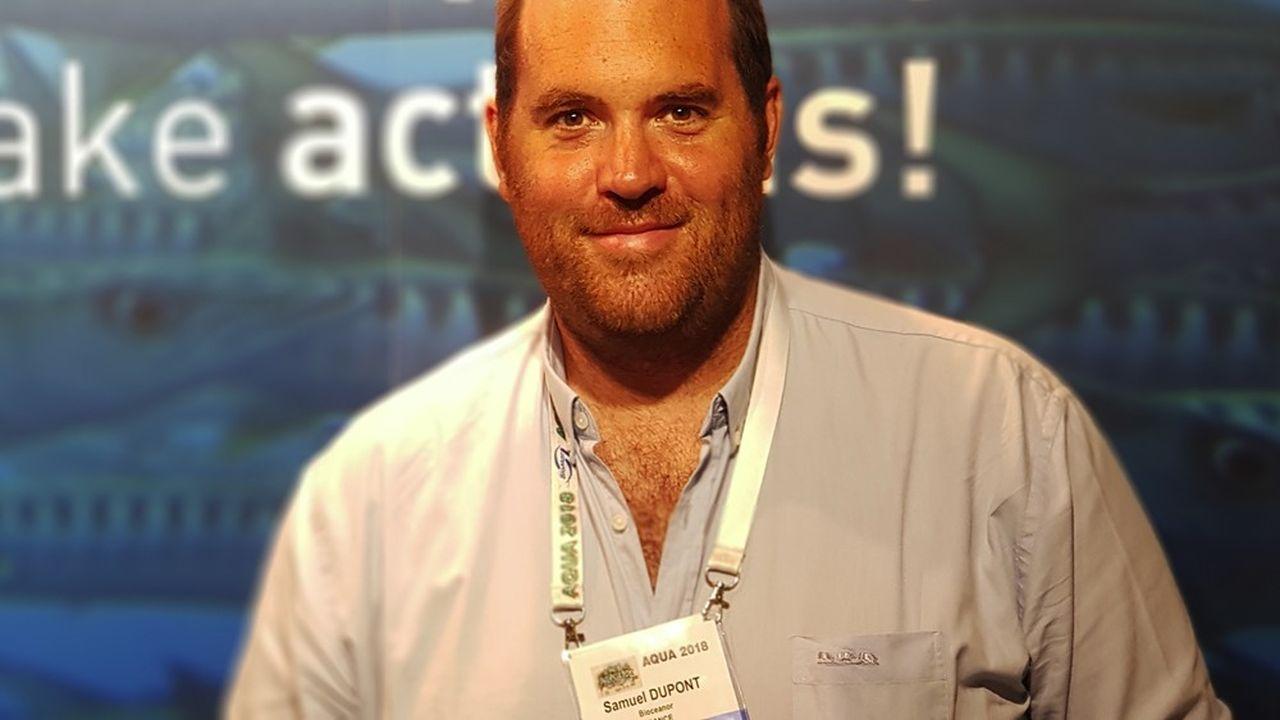 Samuel Dupont, président et cofondateurde la société Bioceanor.