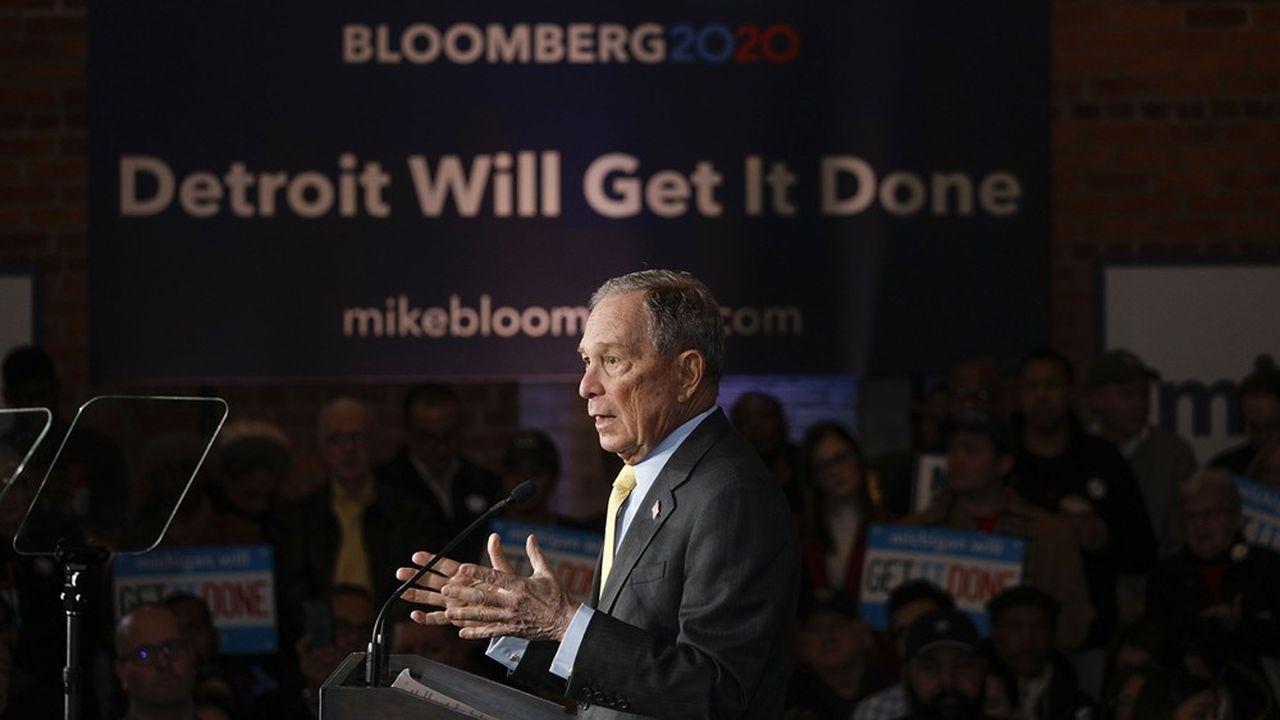 «Quand les autres équipes de campagne se déplacent dans le New Hampshire et se disputent sur les résultats de l'Iowa, nous menons une campagne nationale dans les Etats qui décideront effectivement de cette élection», défend Michael Bloomberg.