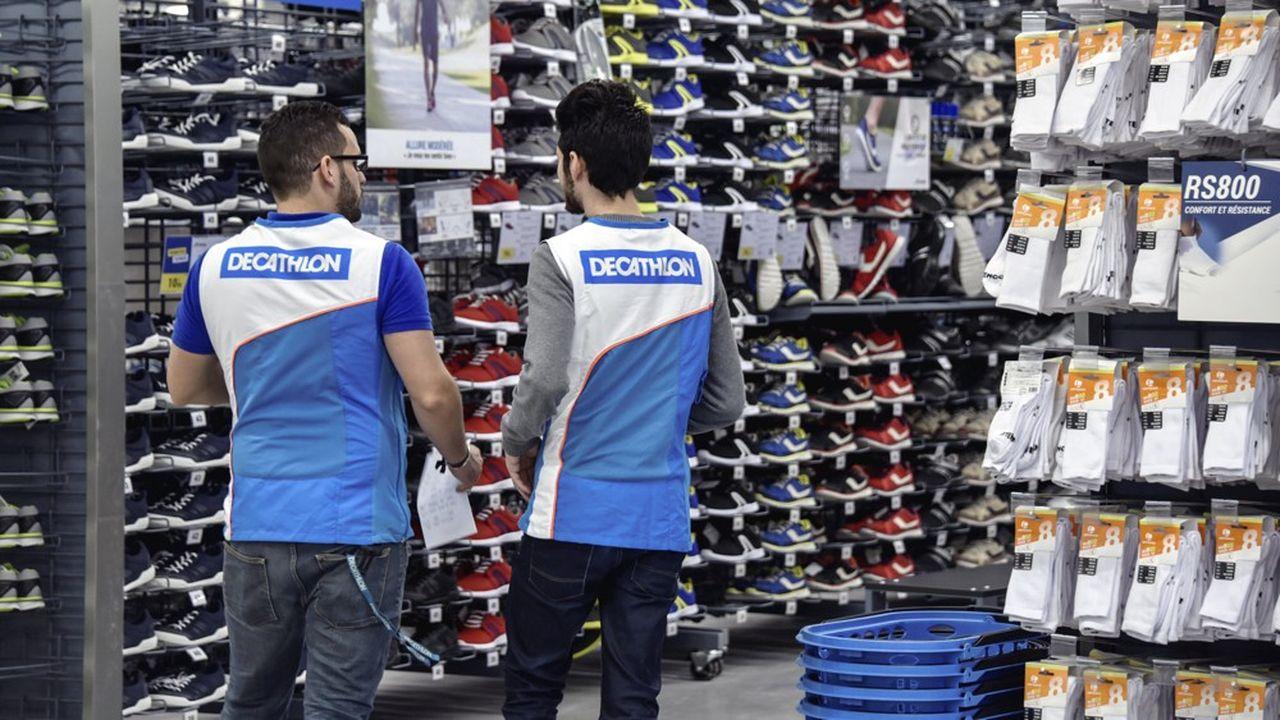 Les ventes de Decathlon ont progressé de 9% à l'international et de 3% en France.