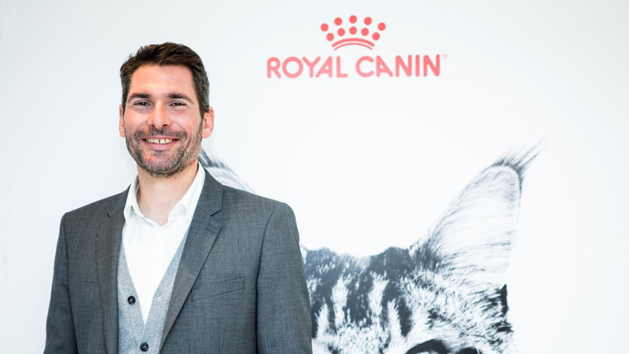 Fabrice Ribourg travaille chez Royal Canin depuis 17 ans