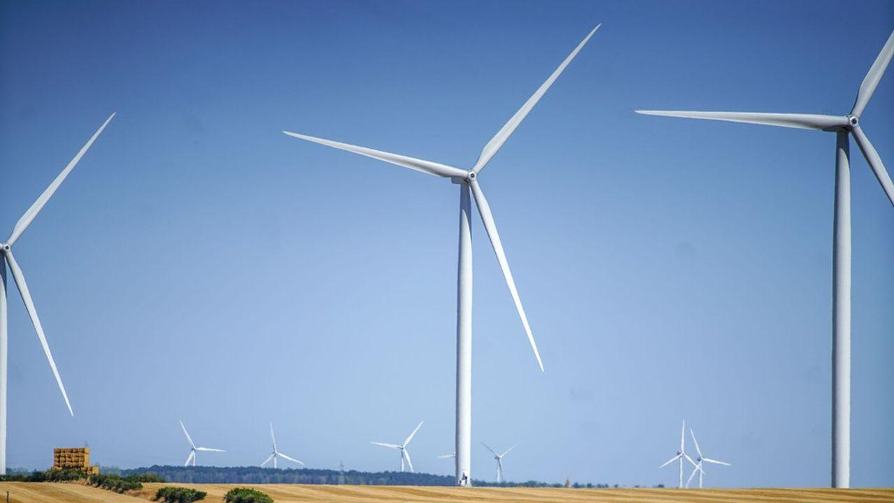 En Europe, la production d'électricité à partir d'éoliennes fait presque jeu égal avec le charbon.