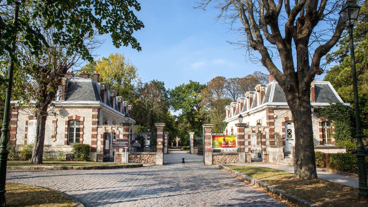 L'entrée principale du parc de la Poudrerie.