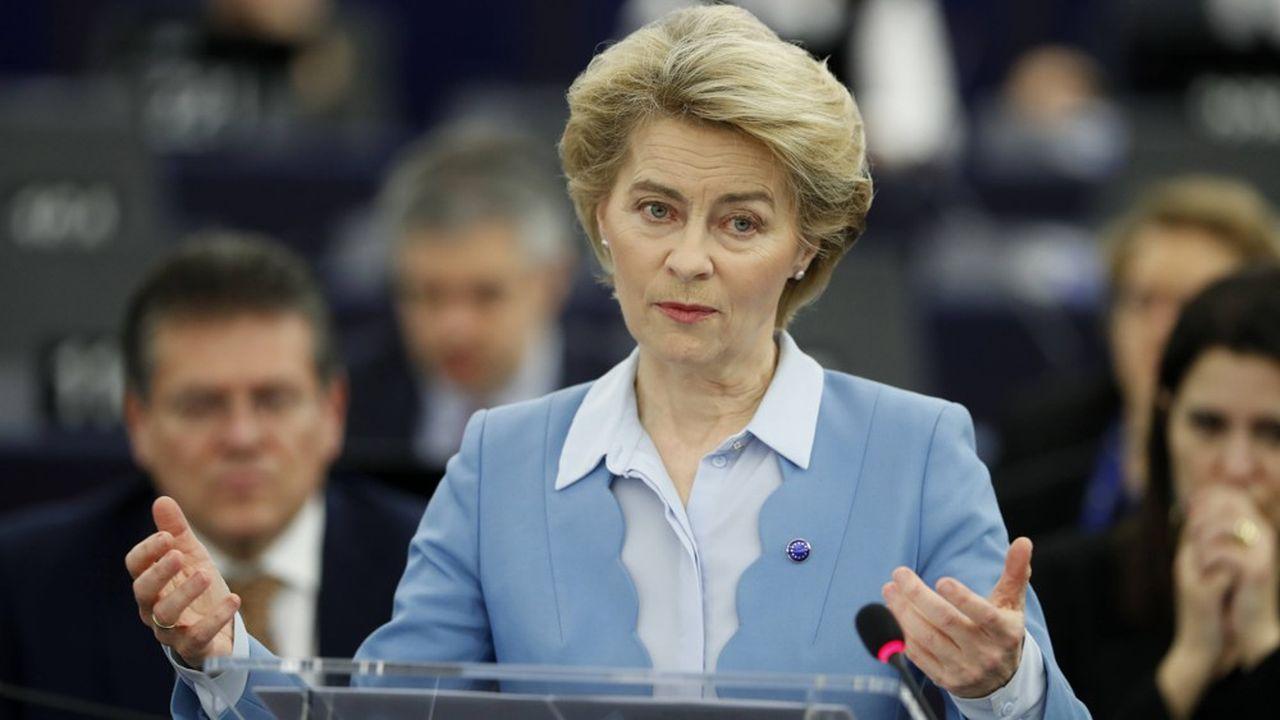 La présidente de la Commission a ironisé sur les demandes de Londres, en rappelant que l'accès au marché de l'UE ne serait pas simple pour le Royaume-Uni.