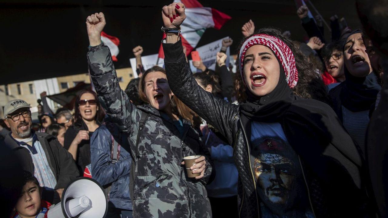 La révolte anticorruption libanaise ne désarme pas.