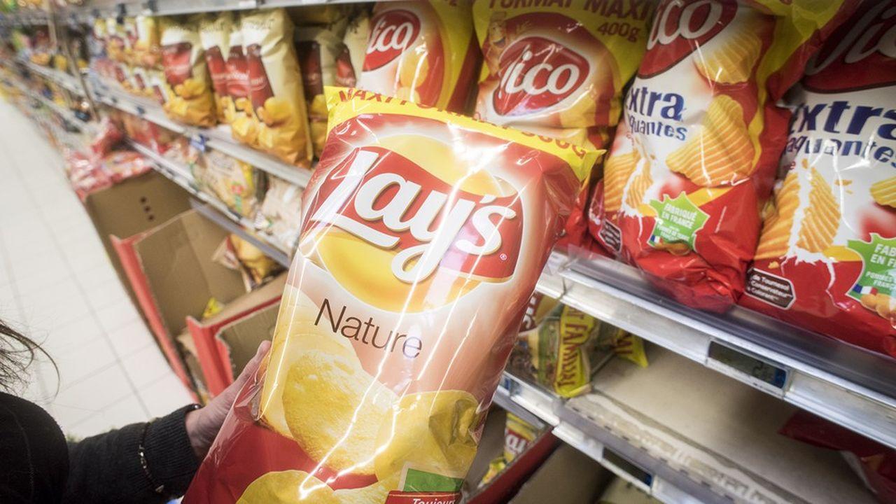 Des chips Lays aux céréales Quarkers, au total plus de 350 références du groupe PepsiCo porteront le Nutri-Score sur le seul marché français.