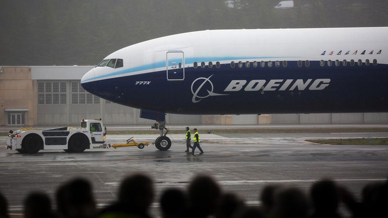 Boeing continue de tourner au ralenti en ce début d'année, même si des signes d'amélioration se font jour.