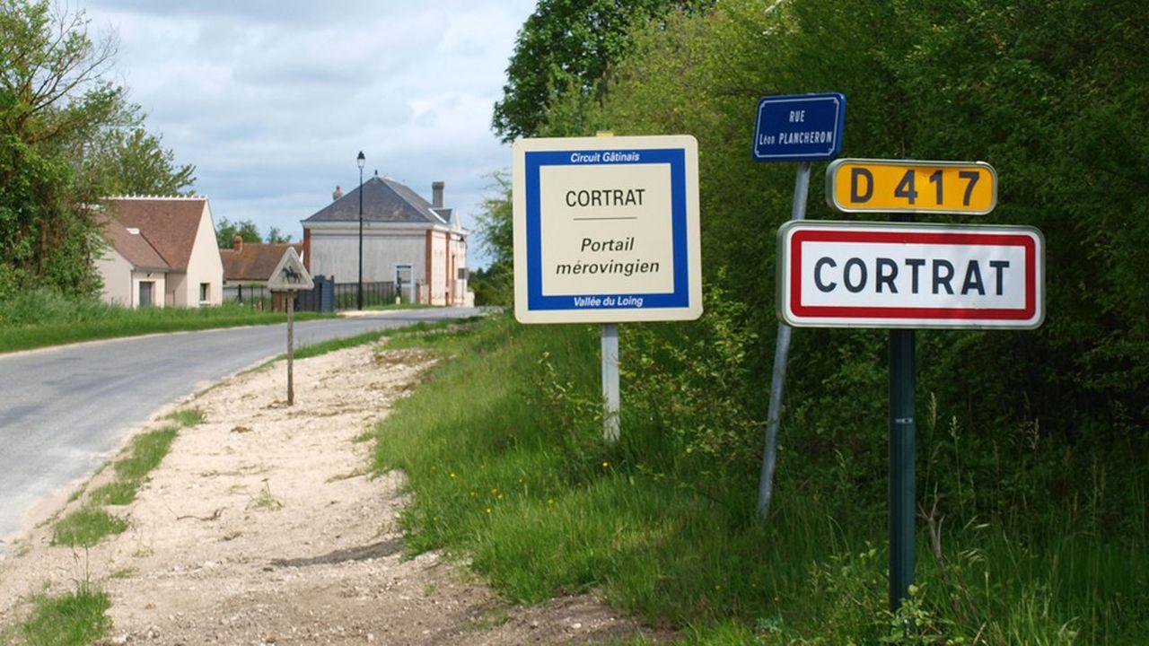 Situé dans le Loiret, au sud de Paris, le petit village de Cortrat ne compte que 82habitants.