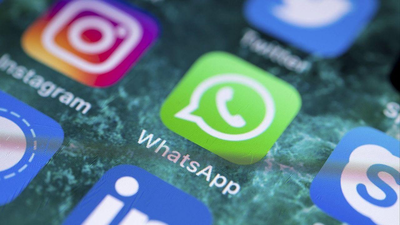 Marché : WhatsApp revendique 2 milliards d'utilisateurs, devancé seulement par Facebook