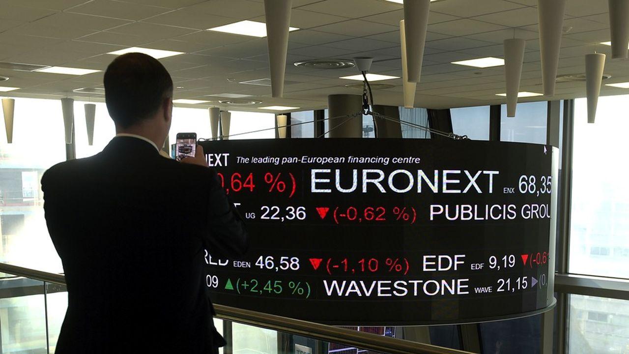 L'opérateur boursier paneuropéen a annoncé mercredi des bénéfices en hausse de 2,8%, à 222millions d'euros sur l'année 2019, pour un chiffre d'affaires en hausse de 10,4%, à 679millions.