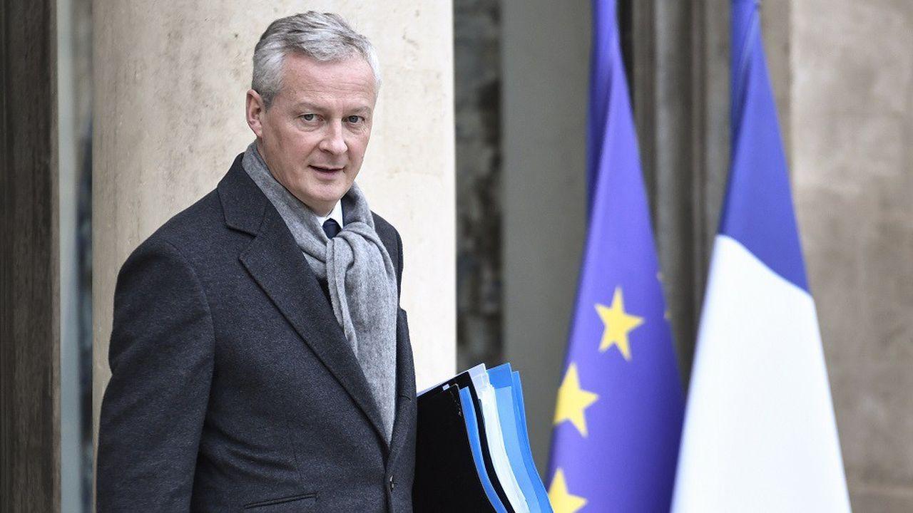 Selon Bruno Le Maire, si jamais l'épidémie persiste, l'économie française pourrait être encore plus freinée.