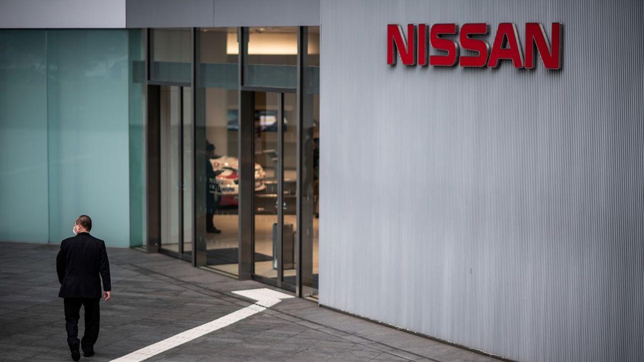 Nissan a enregistré une perte nette de 26,1milliards de yens (220millions d'euros) au quatrième trimestre 2019, contre un profit de 70milliards de yens un an plus tôt.