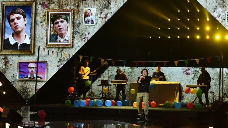 Orelsan l'an dernier aux Victoires de la musique, dont le décor change cette année