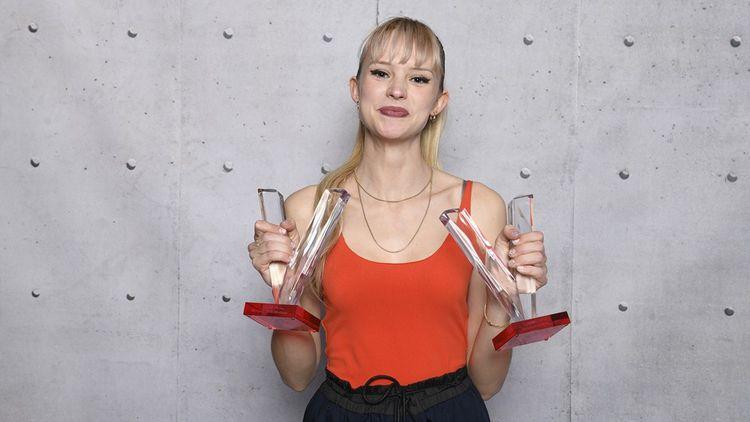 «Album Révélation» pour Angèle l'an dernier. La jeune chanteuse est en lice pour le titre d'«Artiste Fémininine» cette édition.