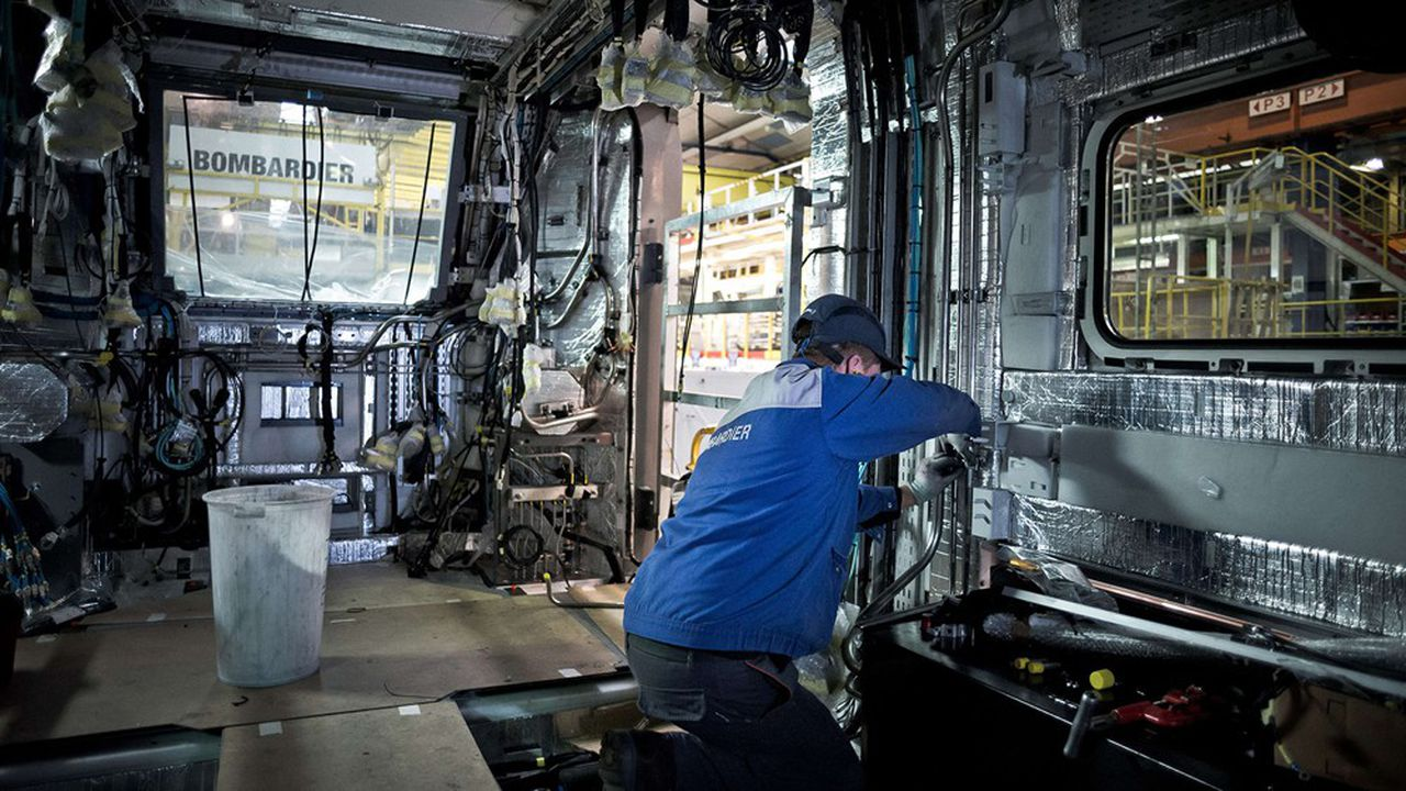 La branche ferroviaire de Bombardier emploie un peu plus de 40.600 salariés dans 27 pays, dont l'Allemagne, la France, et les Etats-Unis.