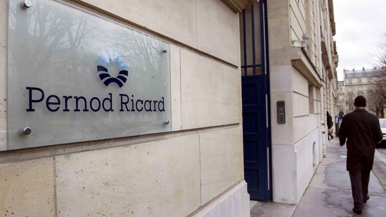 Pernod Ricarddéménage son siège parisien le 17avril de la Place des Etats-Unis au quartier de la gare Saint-Lazare dans un immeuble flambant neuf.