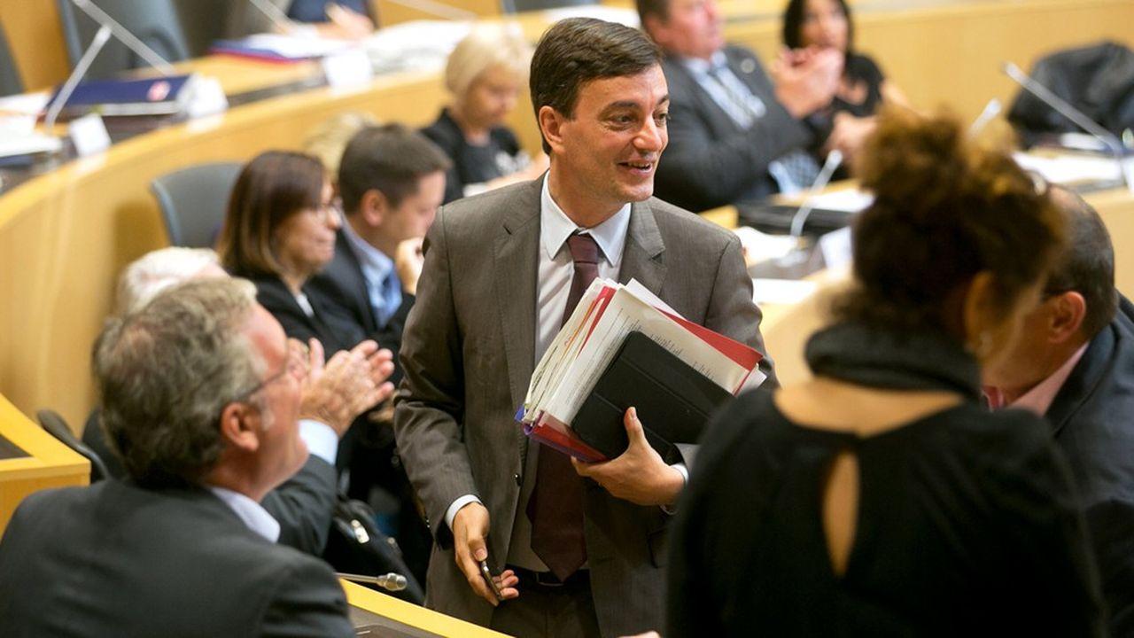 Alain Fontanel, 1er adjoint au maire de Strasbourg, conduit la liste de La République En marche dans la capitale alsacienne.