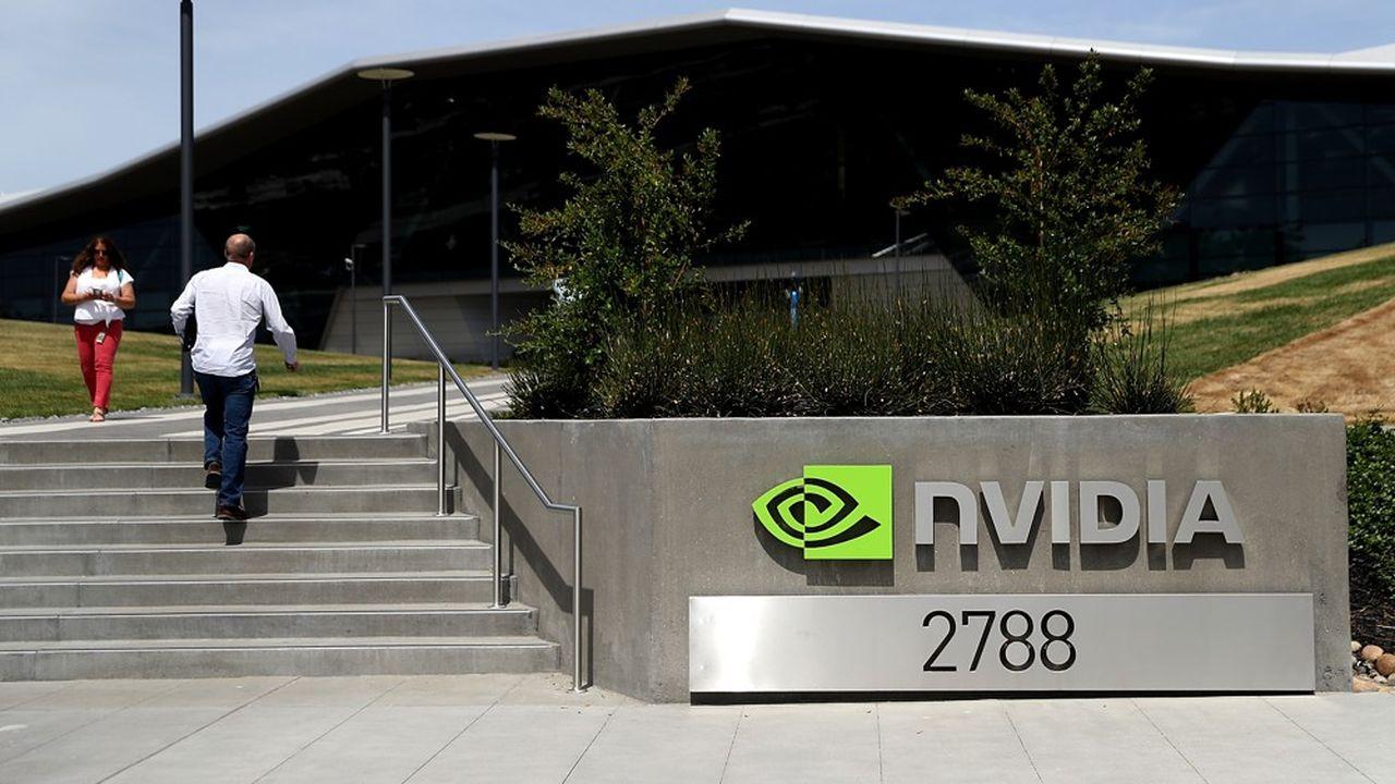 Le siège de Nvidia Corporation est basé à Santa Clara, en Californie.
