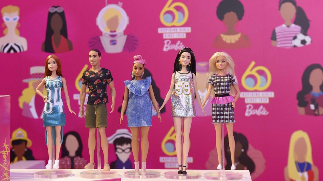 La poupée de plastique Barbie a fêté en 2018 son 60e anniversaire.