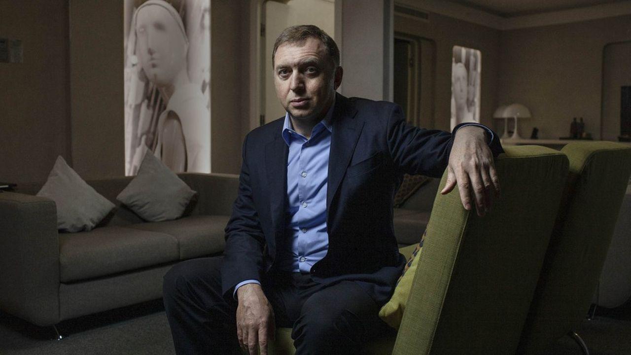 Oleg Deripaska, ex-patron du groupe d'aluminium Rusal.