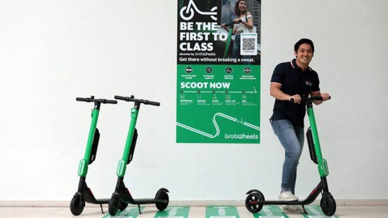 Après les trottinettes, GrabWheels veut déployer des scooters électriques en Asie.