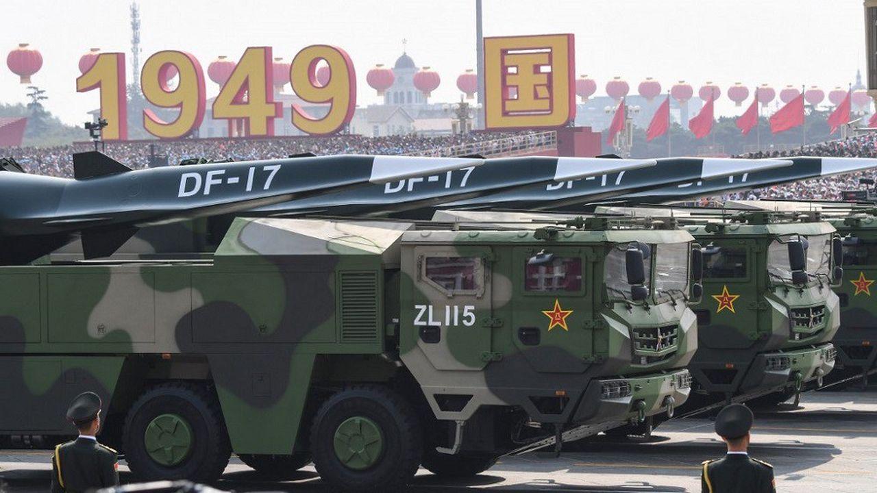 Le développement de missiles hypersoniques par la Chine et la Russie a accru les inquiétudes en matière de défense.