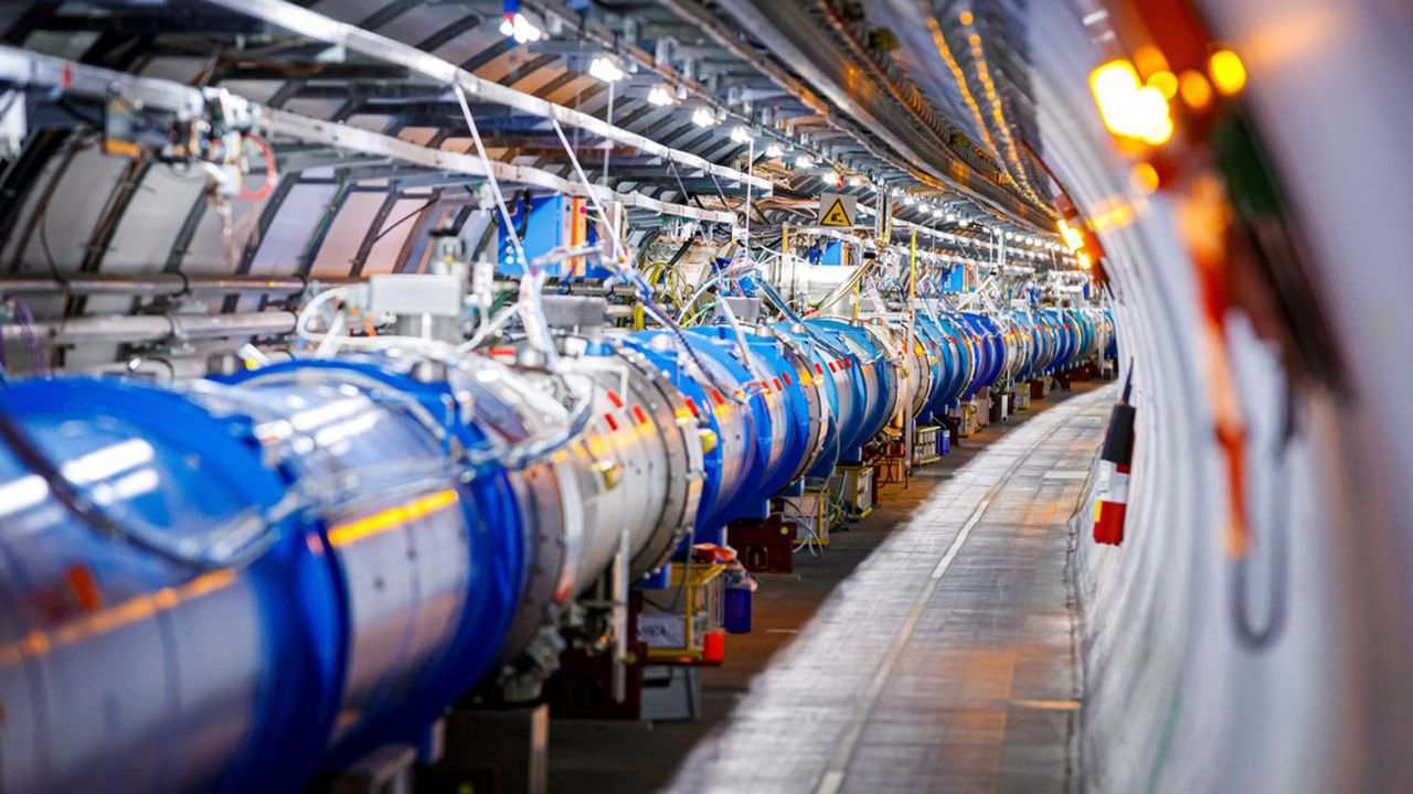 Le LHC est, depuis décembre2018 et jusqu'en mai2021, en mode «pause».